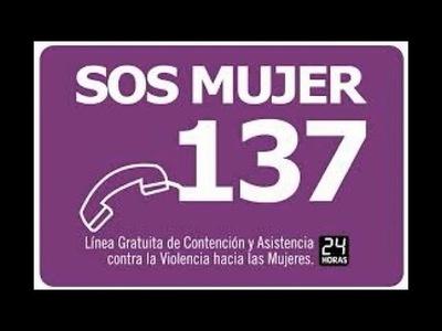 MINISTERIO INSTA AL USO RESPONSABLE DE LA LÍNEA 137 «SOS MUJER»
