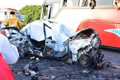 En enero al menos nueve personas perdieron la vida en accidentes de tránsito en Misiones