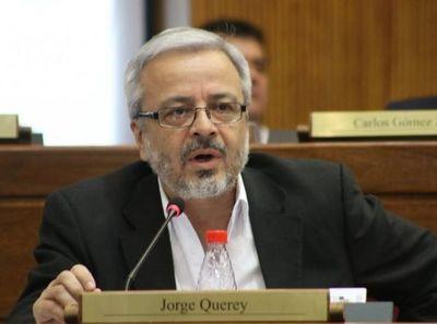 Querey dice que el Frente Guasu acompañaría la perdida de investidura de Bajac