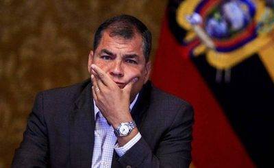 Condenan a 8 años de prisión al expresidente Rafael Correa de Ecuador