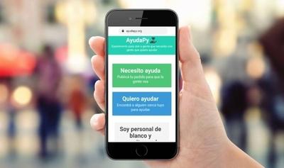 """HOY / AyudaPy: la plataforma que conecta a """"gente que necesita ayuda con personas que quieren ayudar"""""""