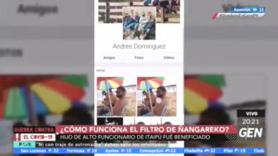 HOY / ¿Funciona el filtro del gobierno?: hijo de funcionario de Itaipú figura en lista de beneficiarios de Ñangareko