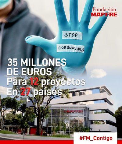 Fundación Mapfre donará 6.000 millones de guaraníes para la lucha contra el coronavirus