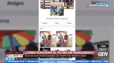 Hijo de funcionario de Itaipú figura en lista de beneficiarios de Ñangareko