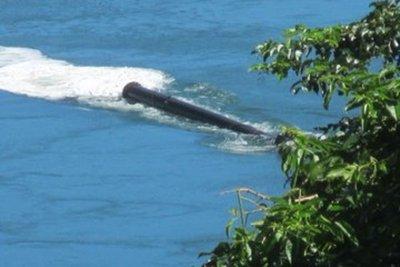 Denuncian que CDE arroja residuos líquidos al río Paraná