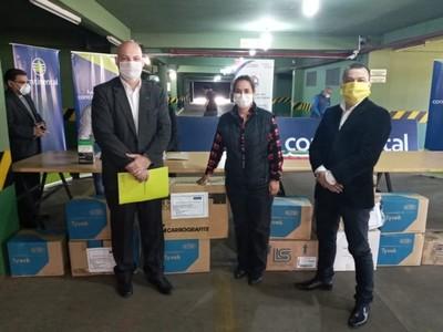 Banco Continental realiza importante donación al departamento de Itapúa