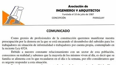 Arquitectos e ingenieros de Concepción urgen la entrega del subsidio «Ñangareko»