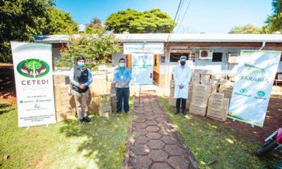 » El Grupo Sarabia donó kits de seguridad para el uso de los médicos