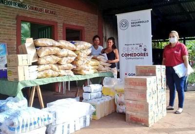 Ministerio de Desarrollo Social entregó más de 35.000 ks. de víveres a comedores comunitarios