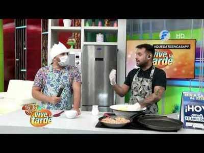 Chipa so'o ryguasu preparamos en la cocina de Vive la Tarde
