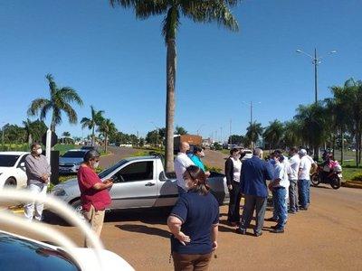 Rotary Club entrega 130 litros de alcohol al 70% a la XIII Región Sanitaria