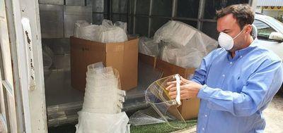 Salud entregó equipos de protección al IPS