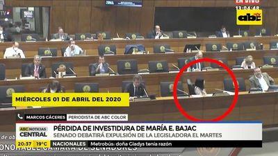 Pérdida de investidura de Maria E. Bajac