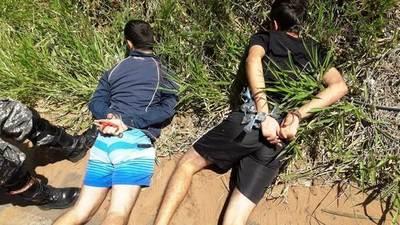 Lince detiene a dos hermanos con drogas en Isla Bogado •