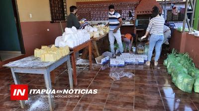 CONSTRUCTOR DONÓ INGREDIENTES PARA LA CHIPA EN YATYTAY.