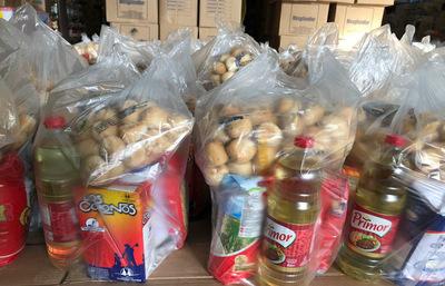 Casa Yasy entrega 2650 kg de víveres a familias vulnerables