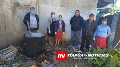 PIDEN APOYO PARA SEGUIR CON LAS OLLAS POPULARES EN LOS BARRIOS.