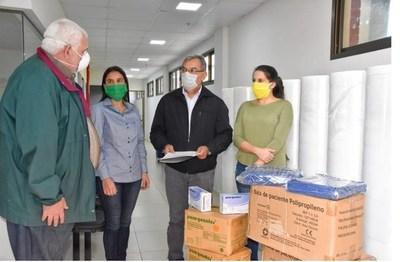 Gobierno entrega equipos de bioseguridad para afrontar pandemia en Itapúa