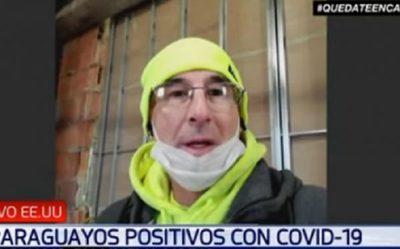 En EE.UU. reciben cheque de USD 1.200 y alimentos, cuenta paraguayo