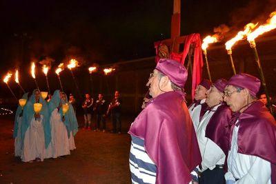 Tañarandy: Procesión de la Dolorosa se realizó en la cárcel de Misiones