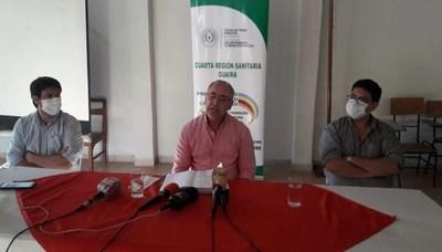 Primer caso positivo de coronavirus en Guairá