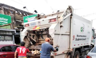 HOY / Hasta el domingo no habrá servicio de recolección de basura en Asunción