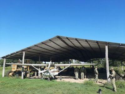Senad incauta casi 400 kilos de cocaína y una avioneta en Alto Paraguay