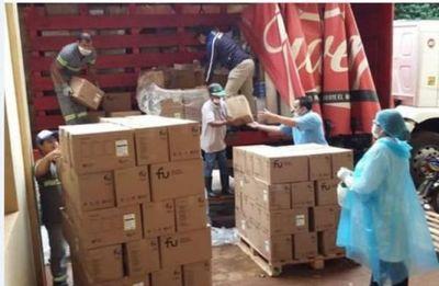 Llegan insumos y equipos de protección enviados por el MSP al Hospital Regional