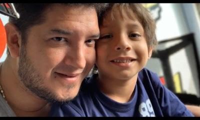 """Junior Rodríguez: """"Día a día trato de ser mejor padre"""""""