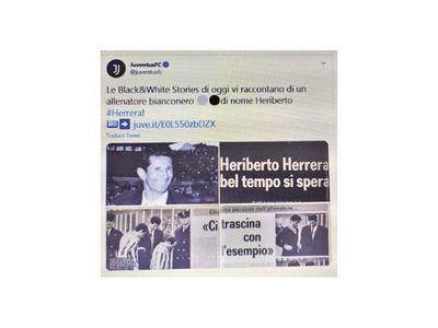 Juventus no olvida a  Heriberto Herrera