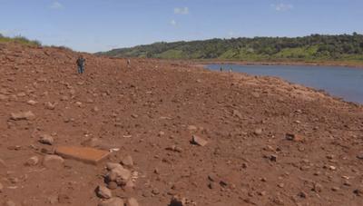 El desolador paisaje del Paraná