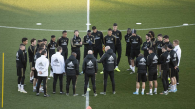 """Real Madrid no retorna al trabajo si no hay """"riesgo cero"""""""
