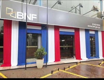 BNF ofrece préstamos para pagar sueldos