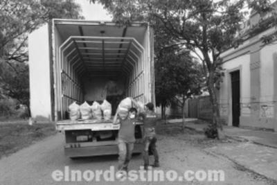Inician entrega de kits de alimentos para catorce mil escolares en el departamento de Concepción