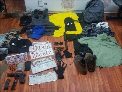 Detienen a presunto miembro del PCC y líder de una gavilla en San Lorenzo