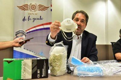 Ejecutivo suspende contratos de compra de mascarillas de la Dinac