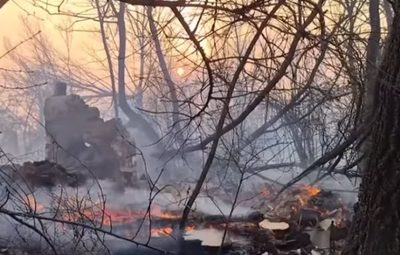 Lo que faltaba: Incendio se acerca a desechos radiactivos de Chernobyl