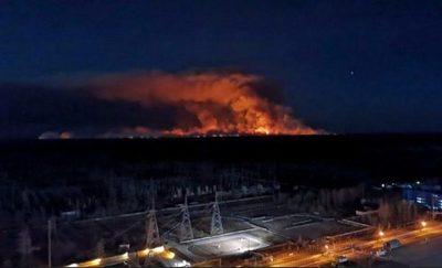 Extinguido el incendio en la zona de exclusión de Chernóbil en Ucrania