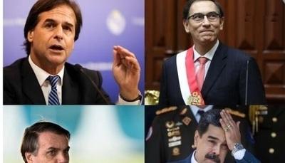 Brasil, México y Venezuela, los peor calificados por su gestión ante COVID-19