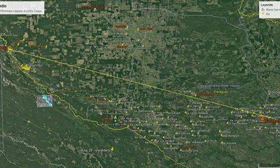El Pilcomayo ya tiene más de 500 km de recorrido y se dirige hacia el río Paraguay