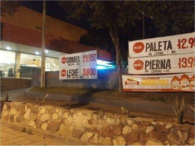 Tortoleros se alzan con G. 30 millones en estacionamiento de supermercado