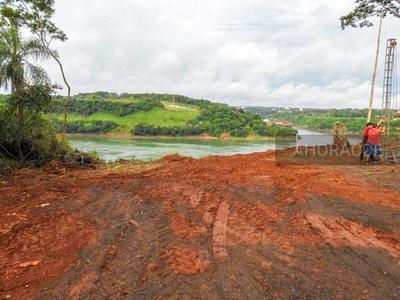 PALADA inicial para el SEGUNDO PUENTE sobre el río Paraná