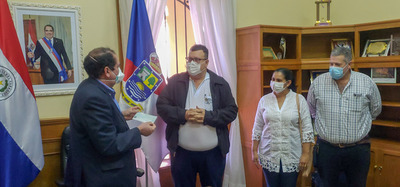 Gobernación de Concepción entrega Gs 100 millones a la Primera Región Sanitaria