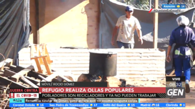 HOY / Realizan ollas populares en Refugio de Copaco