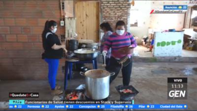 HOY / Yaguarón: Vendedores del mercado organizan olla popular para 200 familias