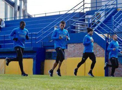"""Junior Alonso y el deseo sobre su futuro: """"la idea es seguir en Boca"""""""