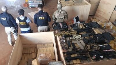 Armas y Drogas al POR MAYOR para CRIMINALES brasileños