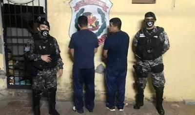 Dos hermanos militares ebrios caen en barrera anticoronavirus en Luque •