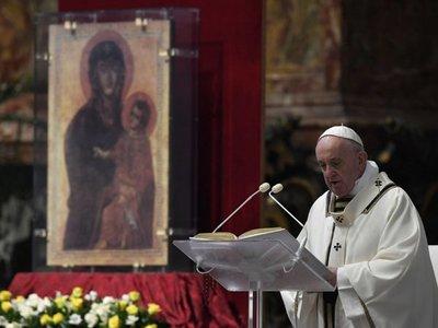 El Papa dona a Siria y Gaza material médico contra el coronavirus