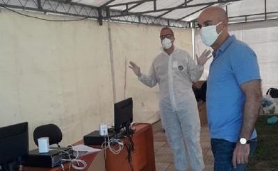 Habilitarán puesto de testeo rápido de COVID-19 en San Lorenzo